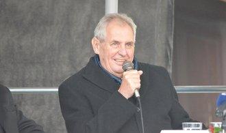 Největší podporu mezi kandidáty na prezidenta má Zeman