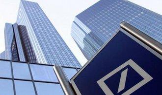 Krach Deutsche Bank by zp�sobil finan�n� krizi, �esk� banky by ale neohrozil, tvrd� analytici