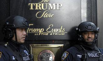 New York chce po americké vládě 880 milionů jako příspěvek na Trumpovu ochranu