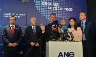 ANO tlačí na dohodu s ČSSD, spory trvají