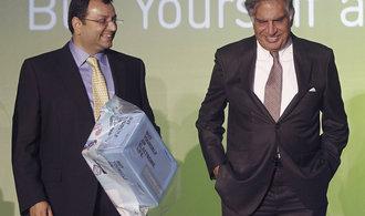 Indick� majitel JLR ne�ekan� m�n� ��fa, do �ela se vrac� Ratan Tata z rodiny zakladatel� koncernu