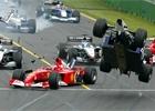 Fotogalerie: Spektakulární nehody ve formuli 1