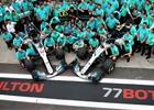 Fotogalerie: GP Brazílie 2018: souboje, vítězství Hamiltona, titul Mercedesu
