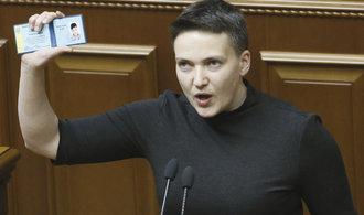 Kyjevský soud poslal Savčenkovou na dva měsíce do vazby