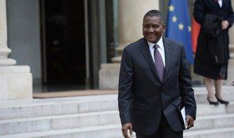 Nejbohatší muž Afriky chce v Evropě a USA investovat až bilion. Možná koupí i fotbalový Arsenal