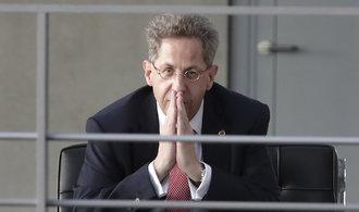 V německé civilní kontrarozvědce končí šéf, který zpochybnil hony na cizince v Chemnitzu