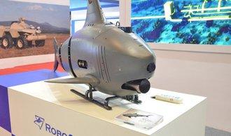 Oceány budou zkoumat dvoumetroví robotičtí žraloci