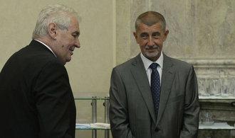Komentář Martina Čabana: Velmi křehké vztahy Babiše a Zemana