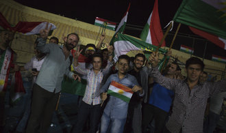 V referendu se pro nezávislost iráckých Kurdů vyslovilo až 90 procent hlasujících