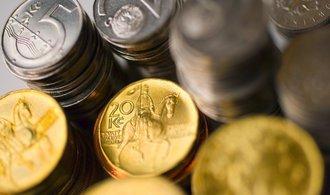 Česká měna je nejníže od léta, oslabila nad hranici 26 korun za euro