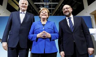 Schulzova SPD je blíž velké koalici