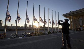 V Jeruzal�m� za�al za p��tomnosti sedmi des�tek delegac� poh�eb �imona Perese