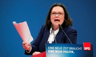 Německu hrozí předčasné volby, rozhodne vnitrostranické hlasování SPD