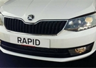 �koda Rapid sedan dostala facelift. Op�t vypad� jako Fabia