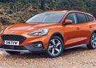 Ford detailněji ukazuje Focus Active ve verzi kombi. Novinka je už v prodeji