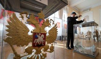 Prezidentské volby v Rusku: komise anulovala výsledky v pěti okrscích