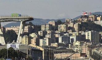 Italská vláda žádá rezignaci vedení firmy provozující most v Janově. Čeká ji i mnohamiliardová sankce