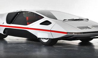 Ufo na kolech. Futuristické Ferrari 512S Modulo se opět prohání na veřejnosti