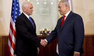 Spojené státy přesunou ambasádu do Jeruzaléma do konce příštího roku