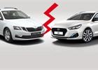 Hyundai jde tvrdě proti Škodě. Dokáže Octavia Fresh porazit i30 Go Blanche?
