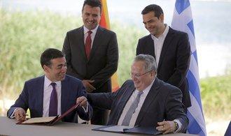 Makedonie schválila návrh dohody s Řeckem o změně názvu
