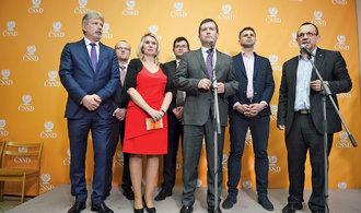 V ČSSD sílí odpor proti vládě s Babišem. K senátorům se přidává i část poslanců a hejtmanů