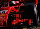 V posledním tréninku byl na osychající trati nejrychlejší Vettel