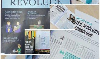 Mediální dům CN Invest rozšiřuje portfolio ekonomických titulů o magazínE15 Premium, první vychází dnes na téma Fintech revoluce