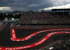 V prvn�m tr�ninku v Mexiku byl nejrychlej�� Hamilton