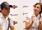 Nebylo příjemné žádat Felipeho, aby se vrátil, říká Williamsová