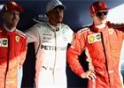 Hamilton v australské kvalifikaci rozdrtil soupeře, Bottas boural