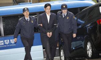 Část vedení Samsung Group nabízí kvůli korupčnímu skandálu rezignaci