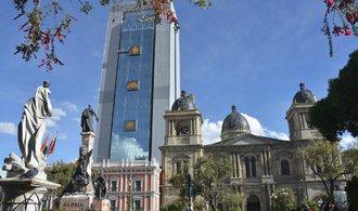 Bolivijský prezident Morales si postavil novou rezidenci. Mrakodrap uprostřed La Paz vyvolal vlnu protestů