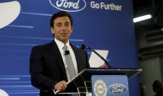 Ford vyhodil ředitele, automobilka nestíhá sledovat trendy