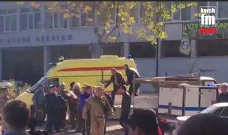 Výbuch ve škole v krymské Kerči si vyžádal nejméně 13 mrtvých a desítky zraněných