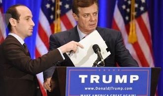 První výsledek zvláštního vyšetřování: Šéf Trumpovy volební kampaně byl uznán vinným z daňových podvodů