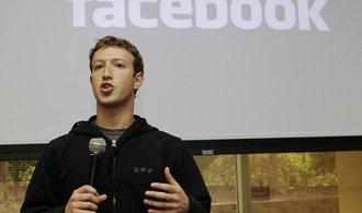 Šéf Facebooku Zuckerberg přiznal chyby a slíbil lepší ochranu dat
