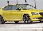 Oficiálně: Škoda Superb dostala nový vrcholný motor. Má méně výkonu než dříve
