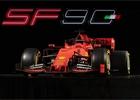 Ferrari představilo vůz Ferrari SF90