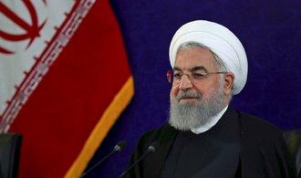 Íránský prezident z podpory útoku obvinil státy Perského zálivu