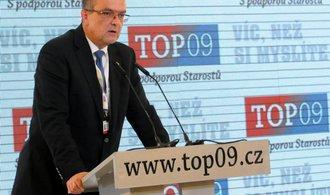 TOP 09 chce vylou�it t�i st�edo�esk� zastupitele, Kalousek z�stane p�edsedou
