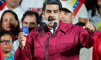 Spojené státy uvalily sankce na Madurovo okolí, včetně manželky. Jste zbabělci, vzkázal Maduro