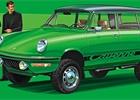 Zpátky do alternativní historie. Jak by vypadal retro Prius, Cayenne a další?