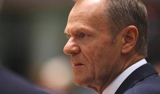 Tusk uvedl, že zemím Evropské unie dal text deklarace o budoucnosti po brexitu