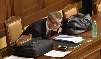 ONLINE: Babišova vláda důvěru nezískala, pro hlasovali jen poslanci ANO