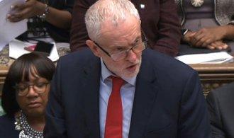 Špatné vyjednání brexitu považuje Corbyn za signál k novým volbám