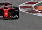 Také poslední trénink ovládlo v Soči Ferrari