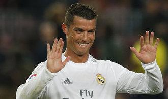 Fotbalista Ronaldo odtajnil majetek, v zahraničí má miliardy
