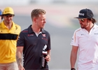 I přes incidenty k němu mám stále respekt, říká o Alonsovi Magnussen