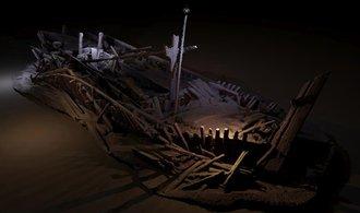 Badatelé odhalili poklad, na dně Černého moře se skrýval ohromný hřbitov lodí